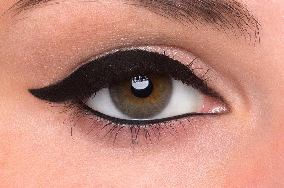 Tipo de delineado hebreo para ojos