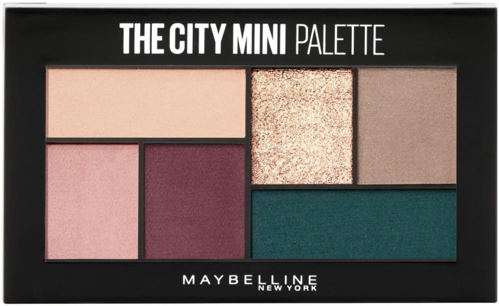 Paleta de sombras The City Mini Maybelline New York
