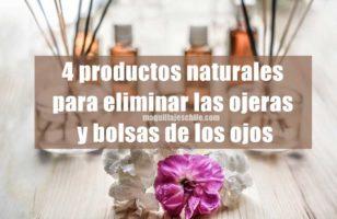 4 productos naturales para eliminar ojeras