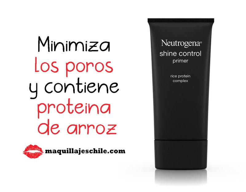 Shine Control Primer - Primer para piel grasa - Neutrogena