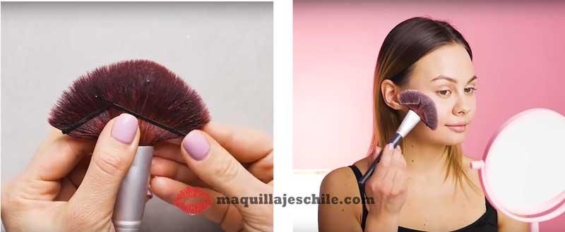 Tips de maquillaje para brochas