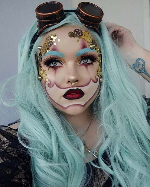 Ideas para maquillarse en Haloween
