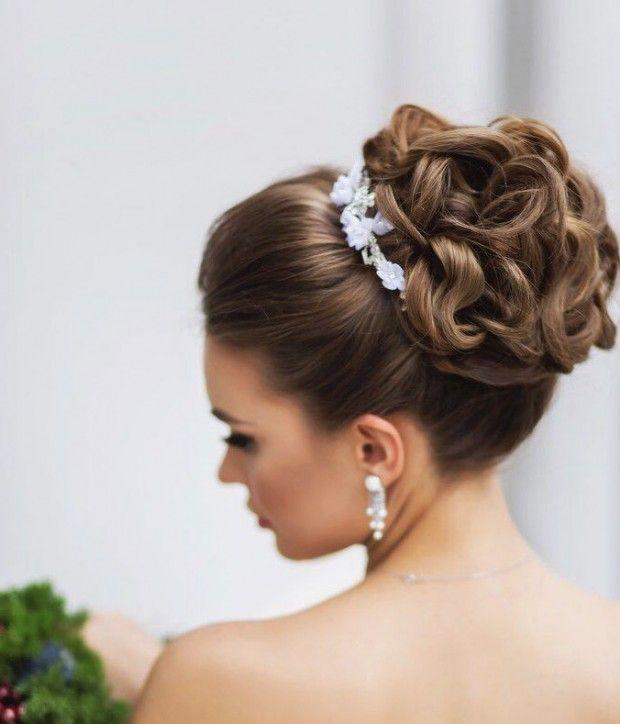Peinados de chicas en casamiento